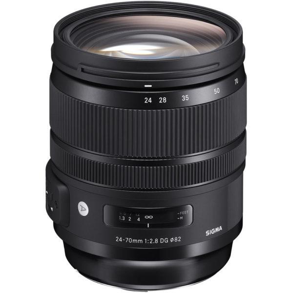 Lente artística Sigma 24-70mm f / 2.8 DG OS HSM para Canon EF