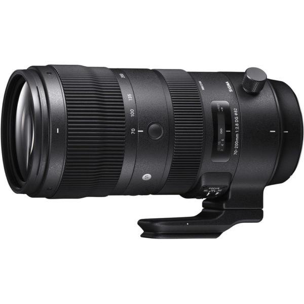 Lente esportiva Sigma 70-200mm f / 2.8 DG OS HSM para Canon EF