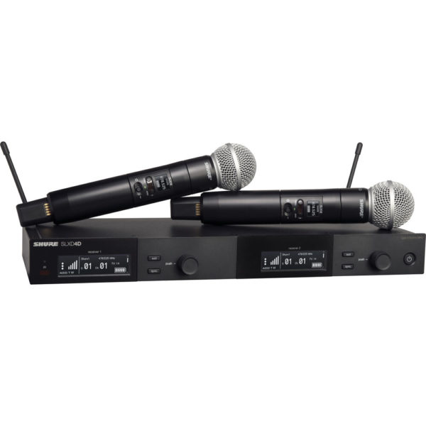 Shure SLXD24D/SM58 Dual-Channel Digital Wireless